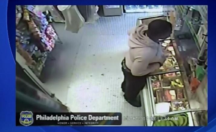 A jefuit un magazin cu o banana. Camerele de supraveghere au surprins intregul incident