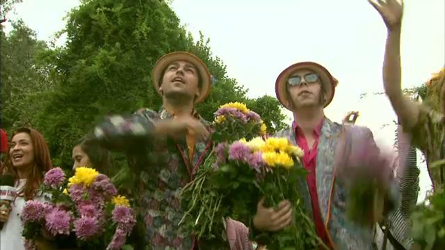 Bucurestiul, la 555 de ani, sarbatorit cu o bataie cu flori. Spectacol multimedia unic in Europa pe Casa Poporului