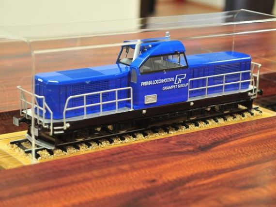 Cum va arata locomotiva produsa la Craiova de firma lui Gruia Stoica. La Pascani, Grampet va asambla si un tren de calatori