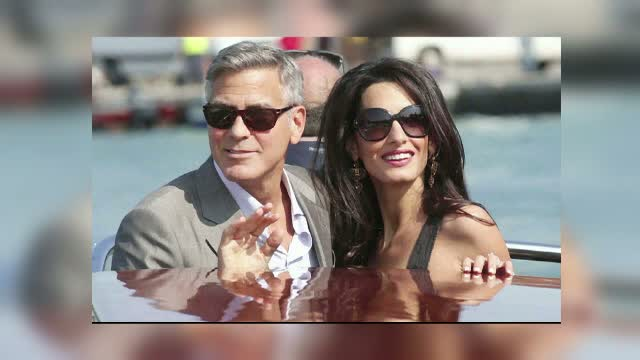 Cea mai romantica nunta a toamnei. George Clooney si Amal Alamuddin au ajuns la Venetia si se pregatesc sa se casatoreasca