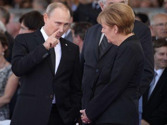Angela Merkel: UE nu intentioneaza deocamdata sa impuna noi sanctiuni economice Rusiei