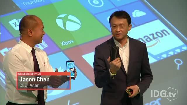 IFA BERLIN 2015. Acer a prezentat primul telefon-PC, iar Sony a lansat telefoul Z5 Premium, cu rezolutie 4K