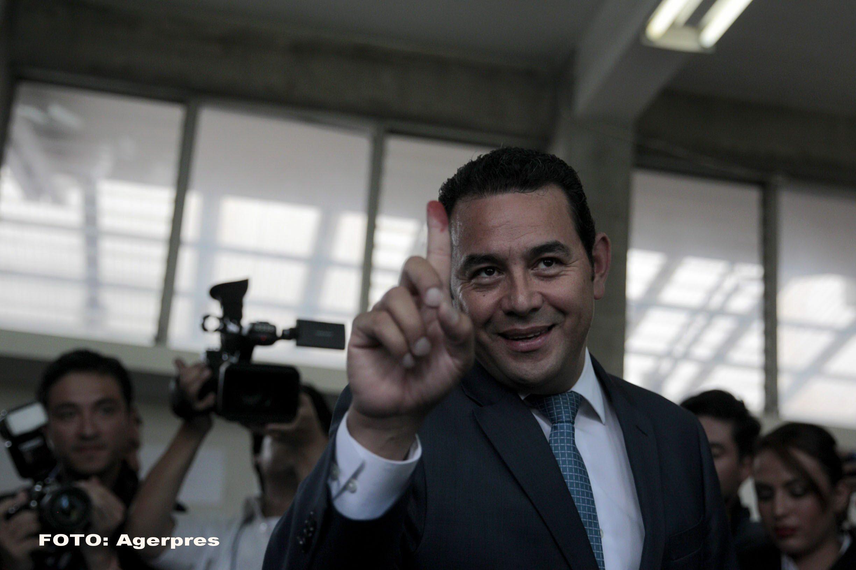 Un fost comic de televiziune are cele mai mari sanse sa castige alegerile prezidentiale din Guatemala.