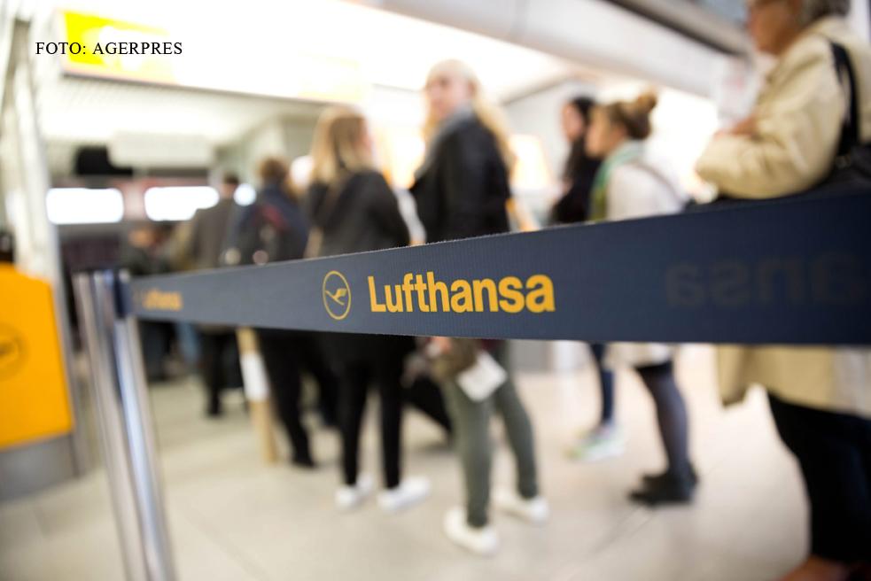 1000 de zboruri, afectate de greva pilotilor Lufthansa. Motivul pentru care a fost declarata ilegala de un tribunal german