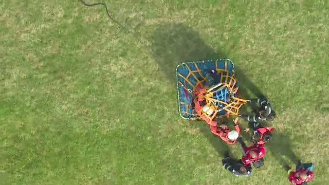 Cum au reactionat 300 de salvatori din Gorj la simularea unui accident aviatic, cu 50 de pasageri la bord