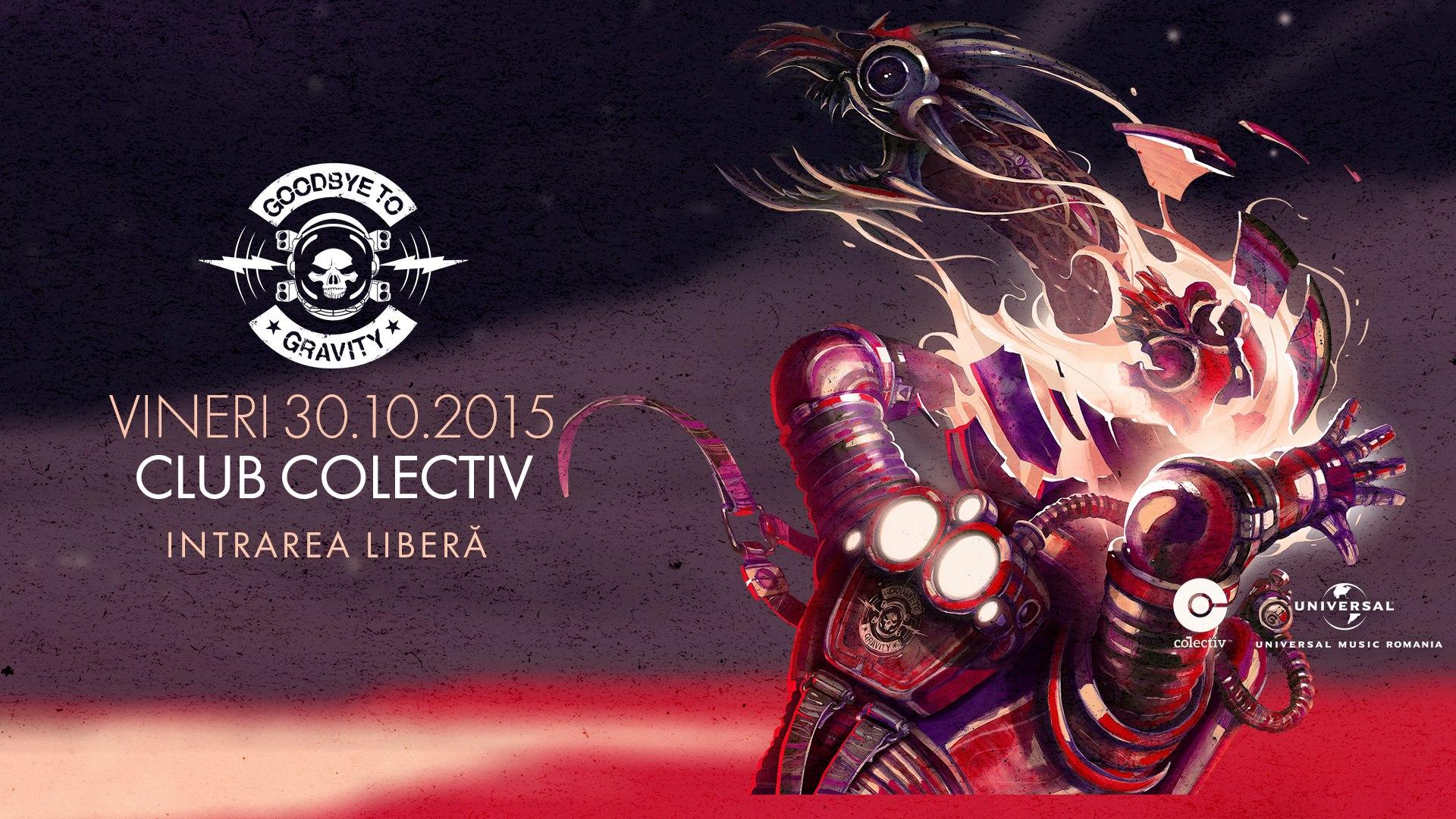 Concert Goodbye To Gravity la Bucuresti, pentru lansarea noului album. Accesul este LIBER