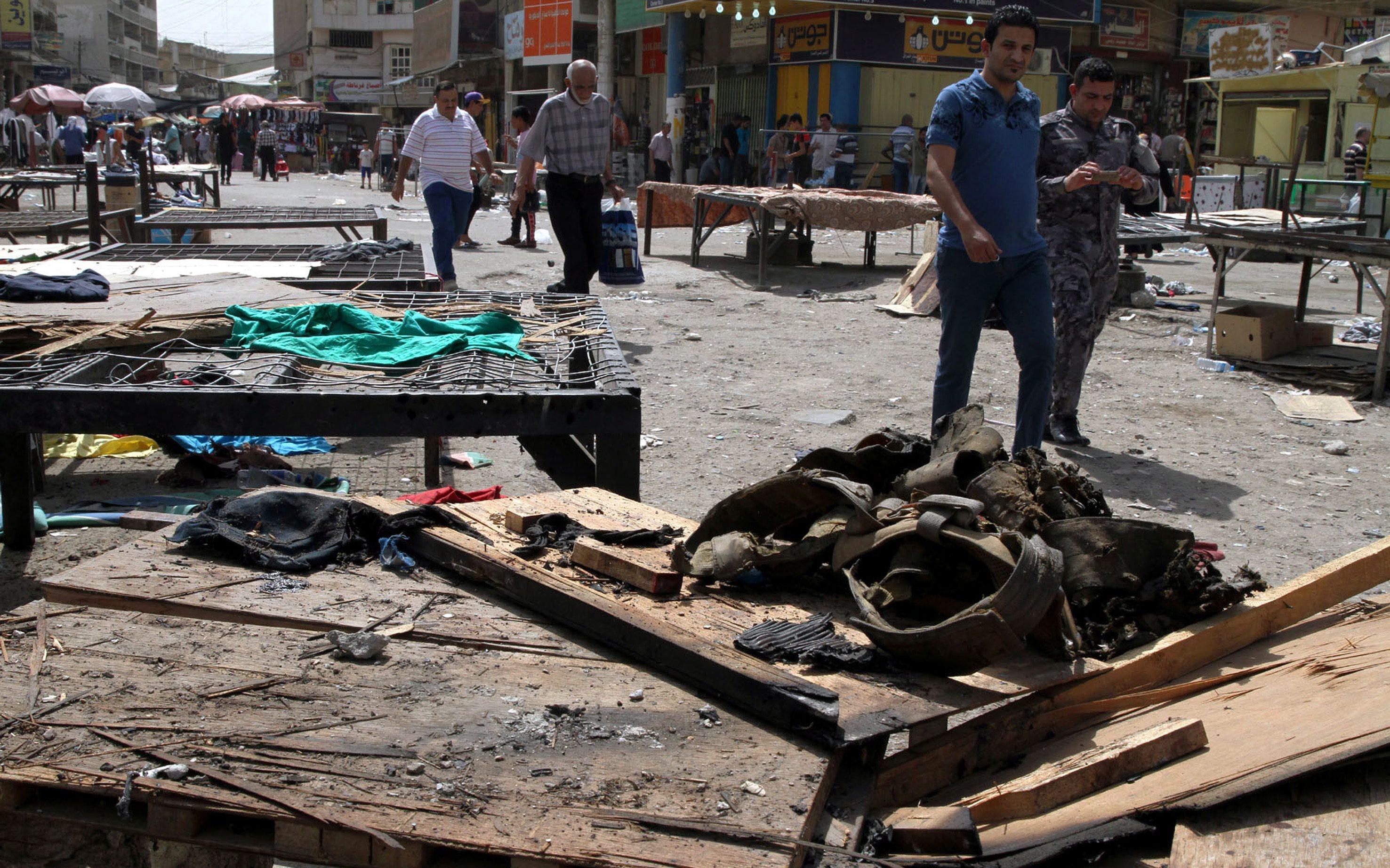 Cel putin 23 de persoane ucise si 68 de raniti, intr-un atentat in Bagdad. Exploziile sinucigase, revendicate de ISIS