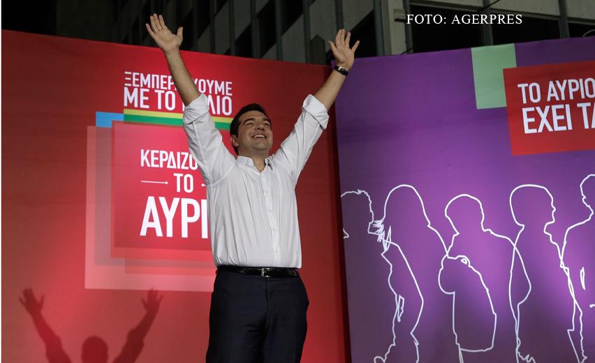 """Premierul Alexis Tsipras a fost declarat """"leu"""" inaintea alegerilor din Grecia. Anuntul surprinzator facut de Varoufakis"""