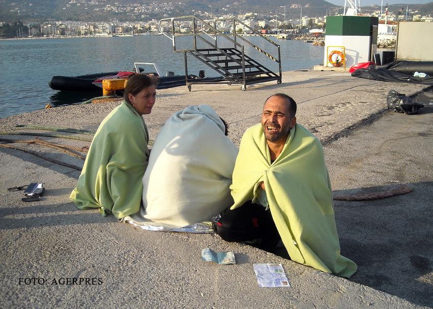 Inca 26 de migranti sunt dati disparuti. Ambarcatiunea lor s-a scufundat in apropierea insulei Lesbos