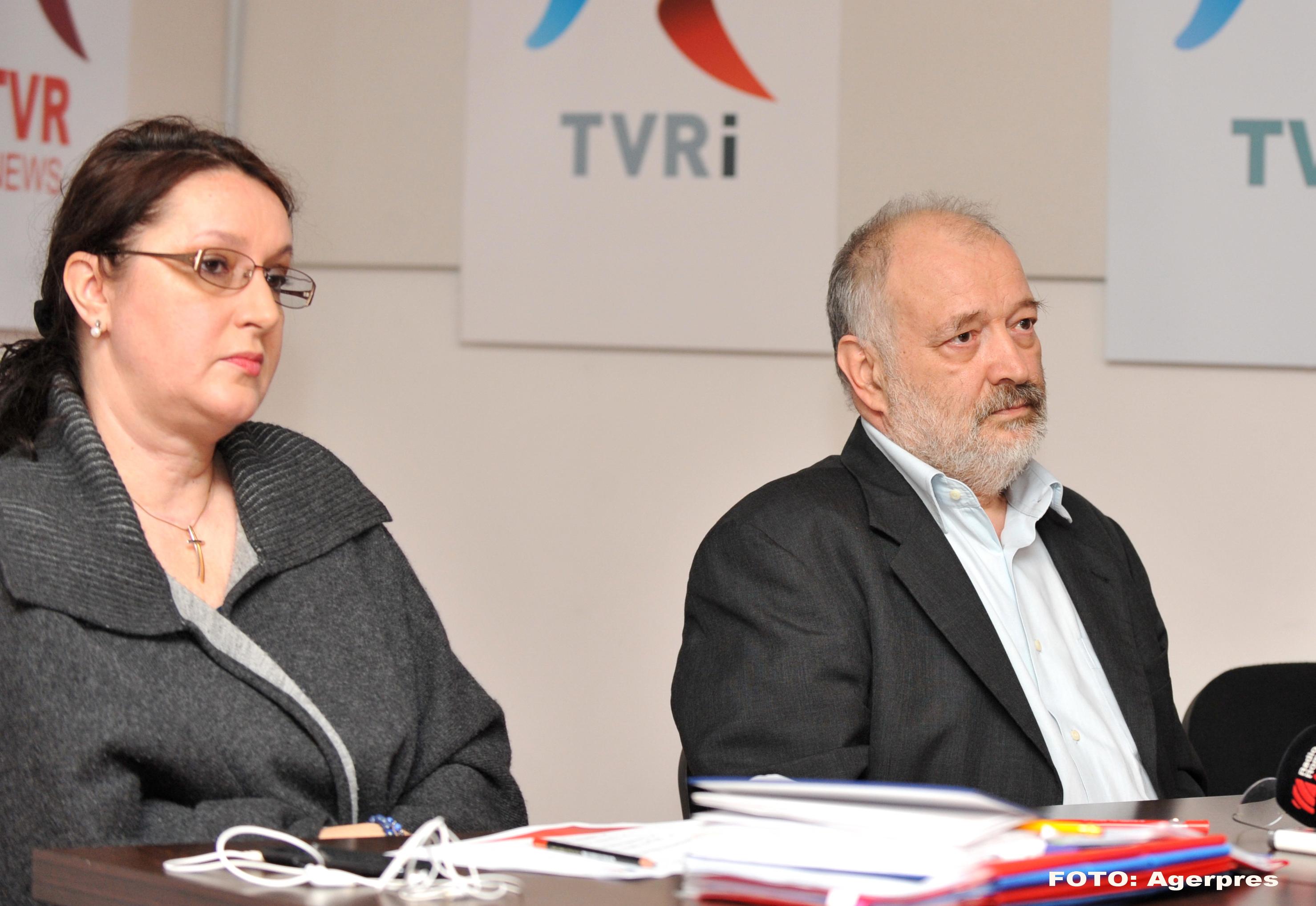 Stelian Tanase a fost demis de la conducerea TVR. Irina Radu preia functia de presedinte interimar