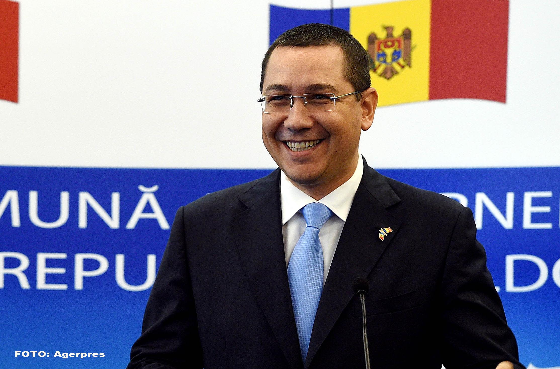 Premierul Victor Ponta: Anul acesta au fost incasari bugetare cu 13 miliarde de lei in plus fata de cele estimate