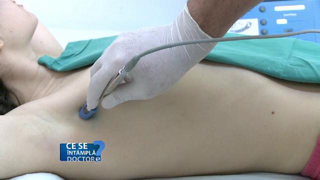 Nu aşteptaţi mai mult de o săptămână de la depistarea unui chist la sân pentru a merge la medic