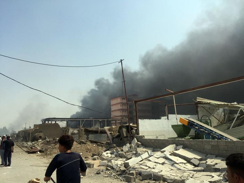 Statele Unite ale Americii au bombardat Statul Islamic, in Siria, cu un lansator de rachete mobil, amplasat in Turcia