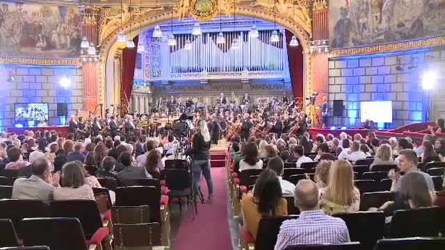 Concursul George Enescu si-a deschis portile, pe scena Ateneului Roman. Artisti de renume, la concertul de gala
