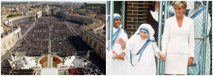 Moment istoric la Vatican: Maica Tereza a fost declarata SFANTA. Mesajul Papei Francisc in Piata Sfantul Petru. VIDEO