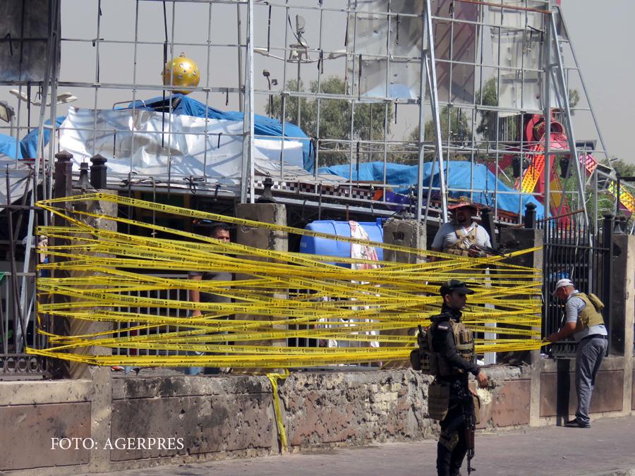 Statul Islamic revendica un nou atentat in Bagdad. Cel putin 40 de oameni, ucisi intr-un mall