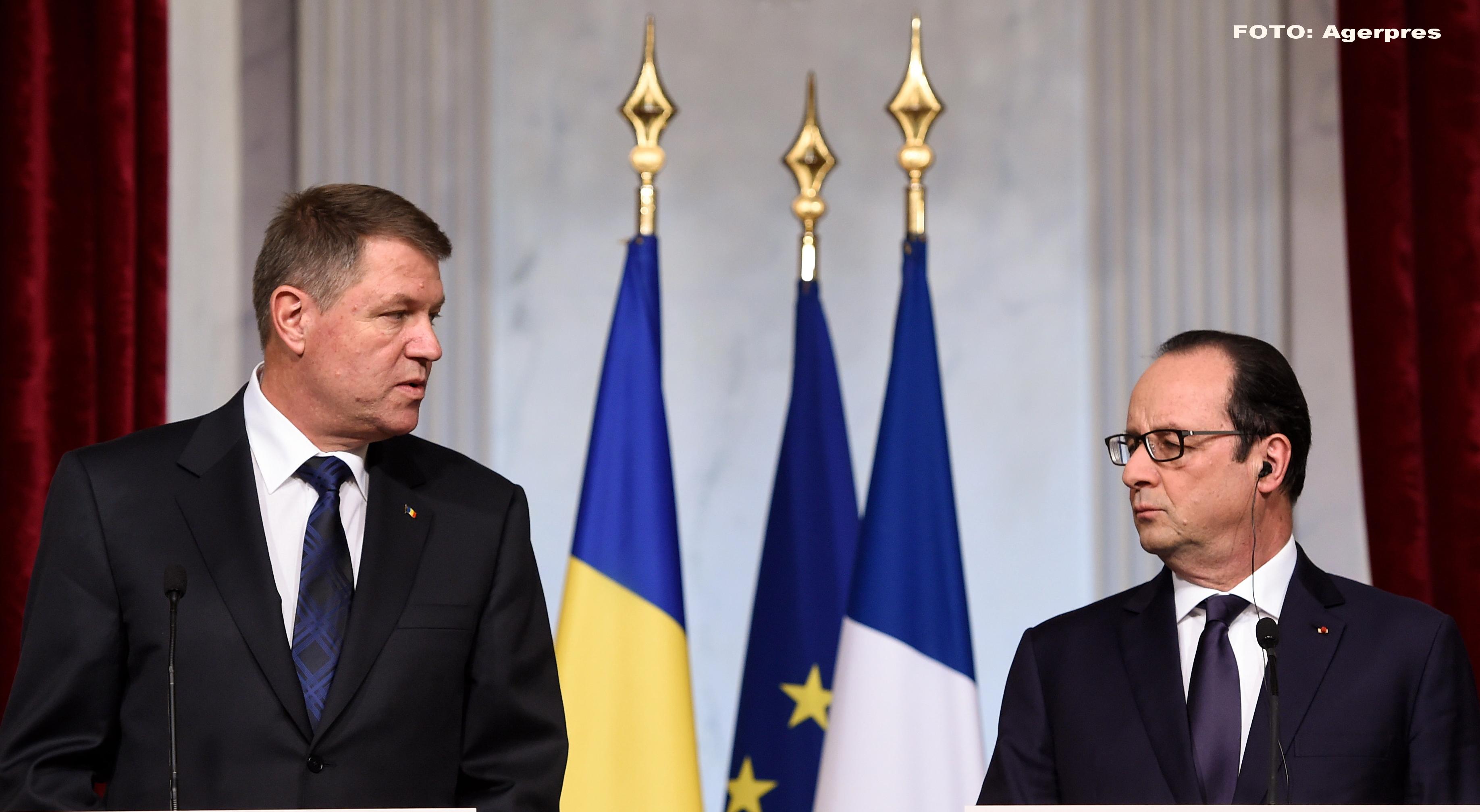 Presedintele Frantei, Francois Hollande, vine in Romania, intr-o vizita oficiala. Ce program i-a pregatit Klaus Iohannis
