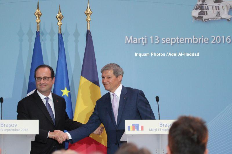 Hollande si Ciolos au inaugurat fabrica Airbus. Cum arata elicopterul de 13 milioane de euro, produs integral in Romania