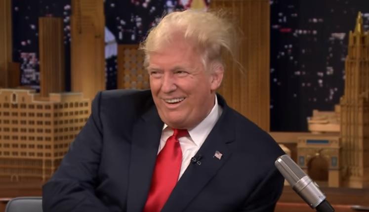 Donald Trump reuseste din nou sa surprinda. Ce a acceptat sa-i faca Jimmy Fallon:
