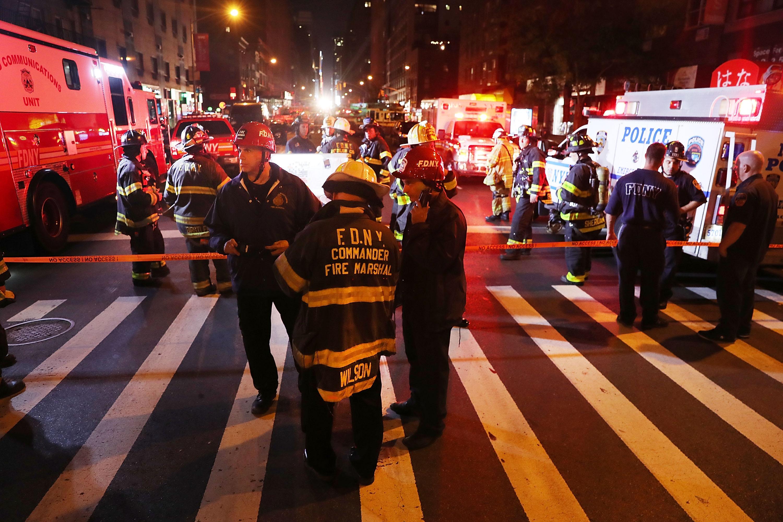 America, lovita de trei ori in doua zile. Ambele bombe din Manhattan erau oale sub presiune, similare atentatului din Boston