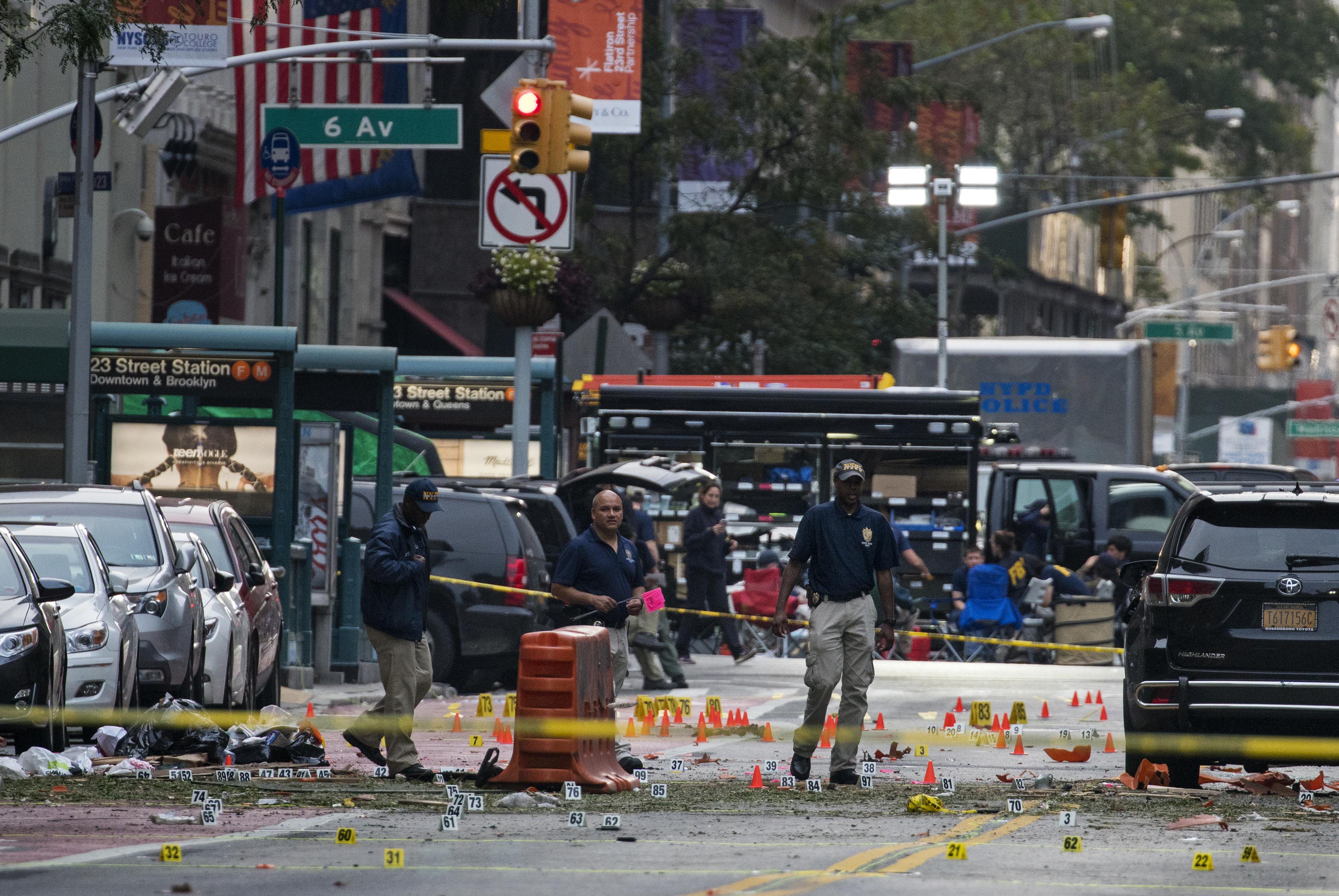 Explozie in Manhattan. Autoritatile au anuntat ca este vorba despre