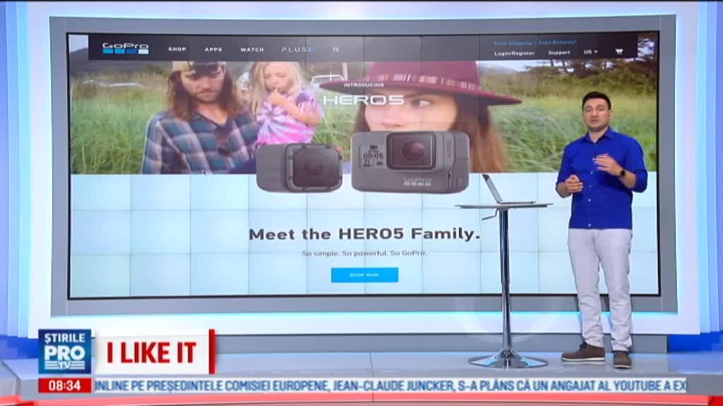 iLikeIT. GoPro a lansat 3 noi produse: camerele Hero 5 Black si Hero 5 Session, precum si prima sa drona, GoPro Karma