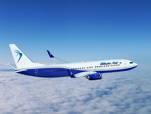 Două aeronave Blue Air care au decolat de la Bacău, reîntoarse la sol