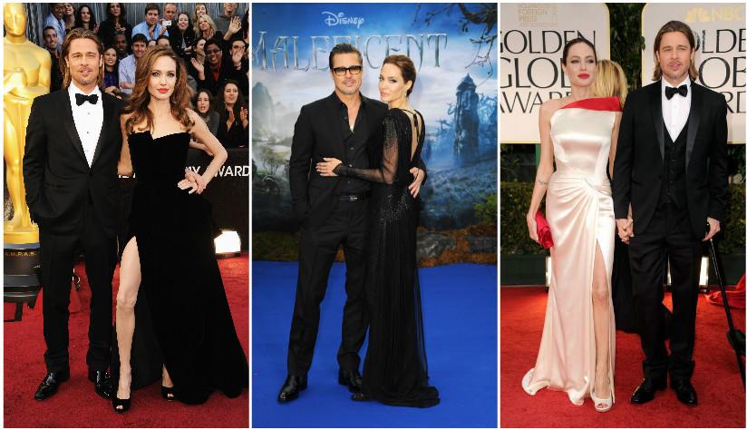 Adio, Brangelina! Povestea celui mai iubit cuplu din lume in imagini: aparitiile de neuitat cu Angelina Jolie si Brad Pitt