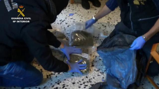 Roman care facea parte dintr-o retea de traficanti de droguri, arestat in Spania. Valoarea capturii facute de anchetatori