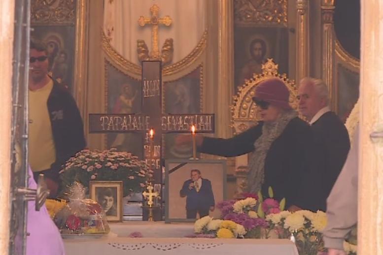 Sebastian Papaiani, inmormantat cu onoruri militare in Cimitirul Bellu. Colegii si prietenii si-au luat ramas bun