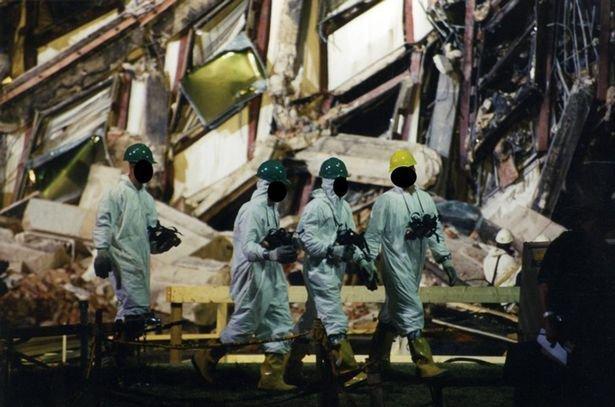 Imagini nemaivăzute până acum din Pentagon, după atentatele din 11 septembrie