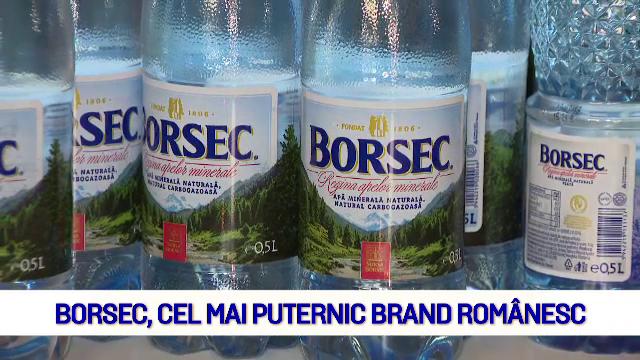 (P) Borsec, cel mai puternic brand romanesc