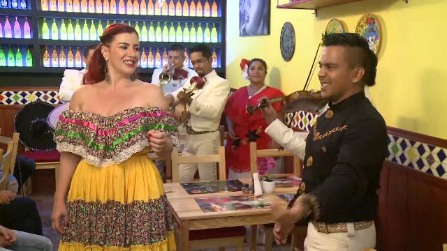 Dansuri latino, mariachi şi margherita, la petrecerea organizată de Ziua Națională a Mexicului, la Bucureşti