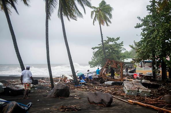 Uraganul Maria a devastat insula Dominica, Caraibe