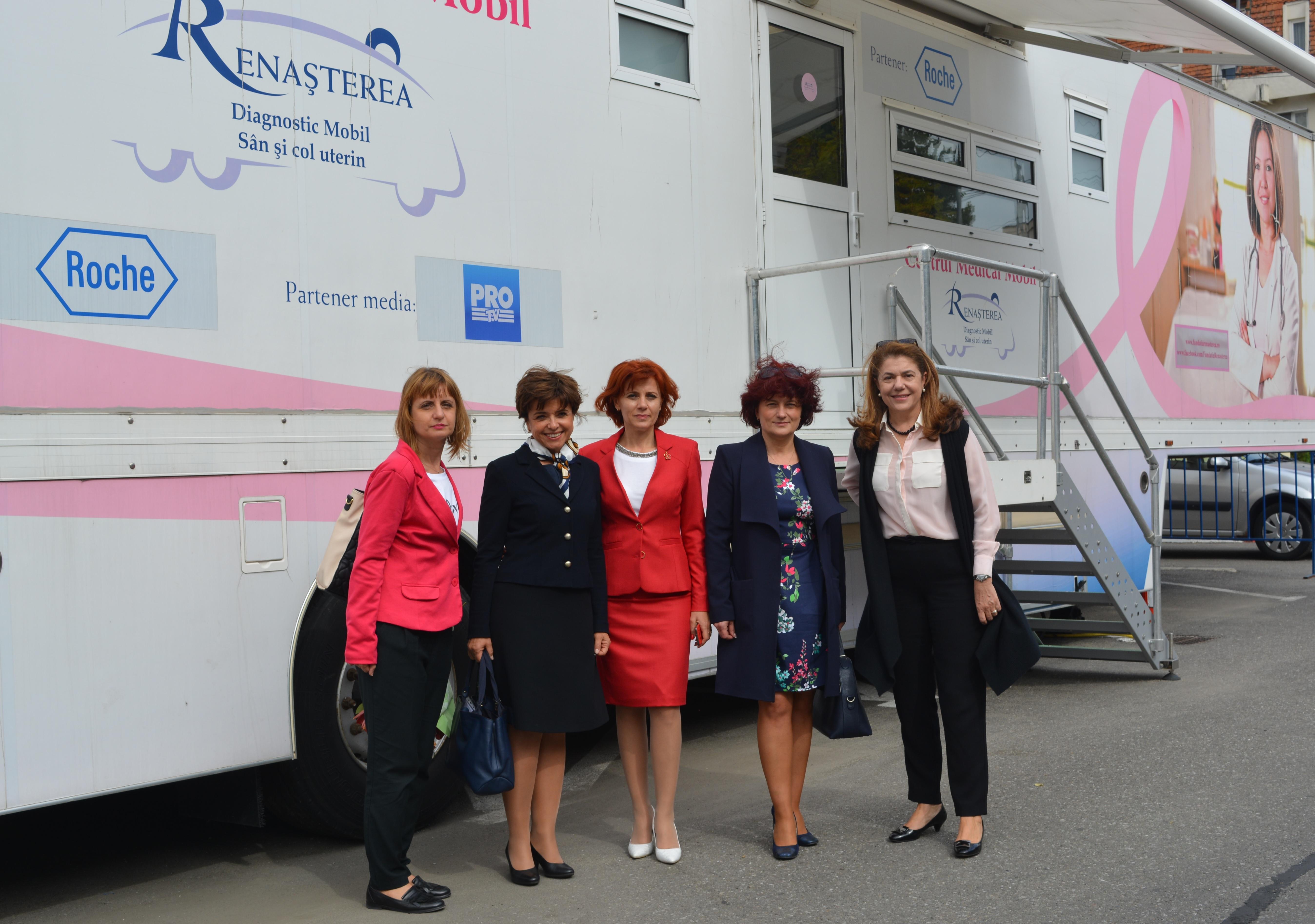 Mamografii și teste Babeș-Papanicolau oferite gratuit femeilor din Mioveni