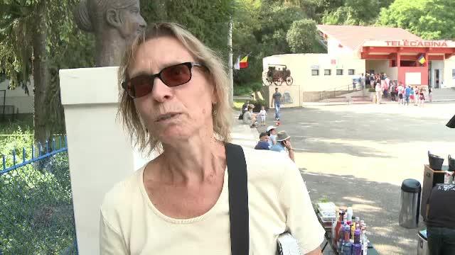 """Reacția unei turiste din Germania care a ajuns în Hunedoara: """"A fost greu"""""""