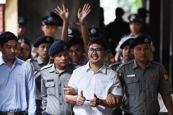 """Jurnalişti Reuters, condamnaţi la închisoare în Myanmar. """"O zi tristă pentru presa din întreaga lume"""""""