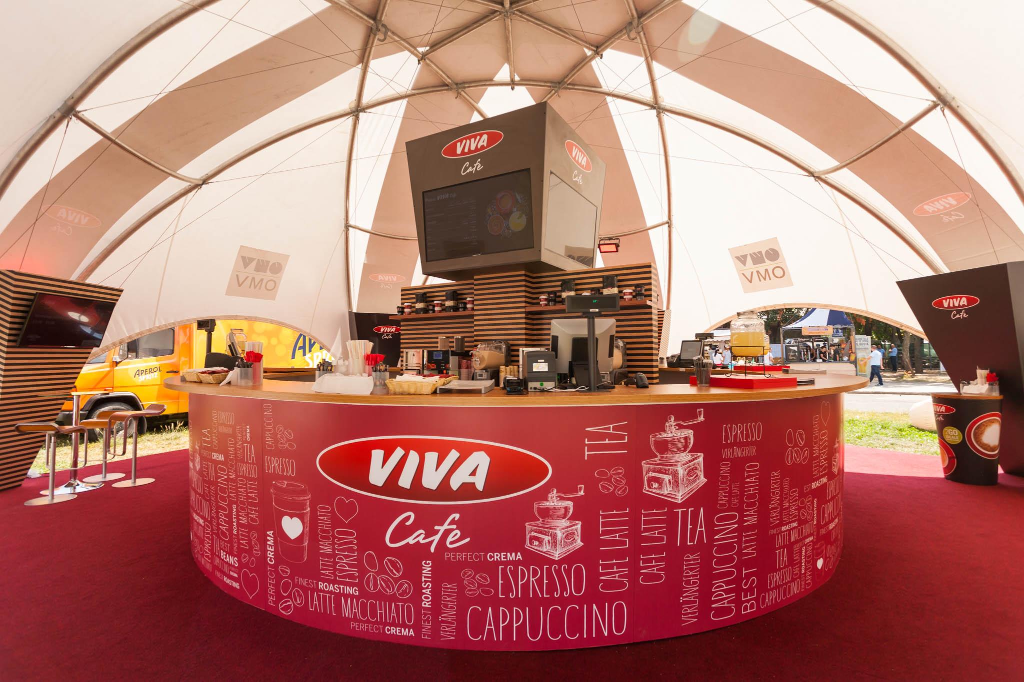 (P) VIVA Cafe te așteaptă la Bucharest Street Food Carnival să-ți iei ceașca de energie