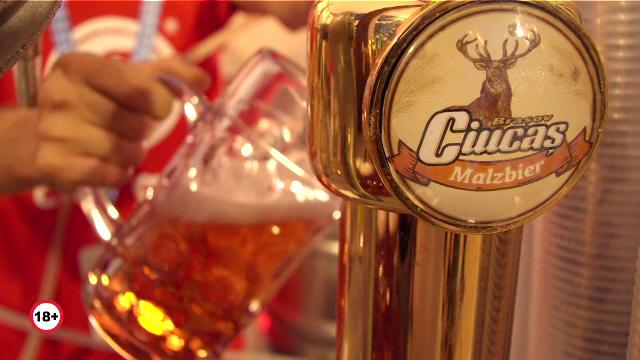 (P) Ciucaș, brand de tradiție al Brașovului, aduce relaxare vizitatorilor Oktoberfest
