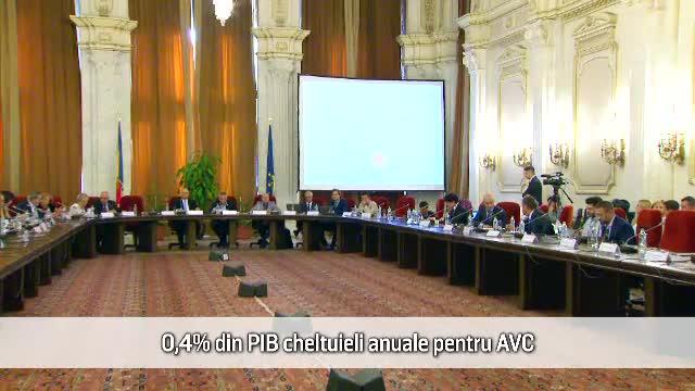 (P) România cheltuieşte anual 0,4% din PIB pentru victimele AVC