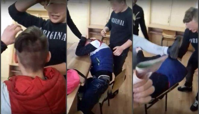 Un elev a fost bătut și umilit de colegi, într-un liceu din Giurgiu. S-a deschis dosar penal