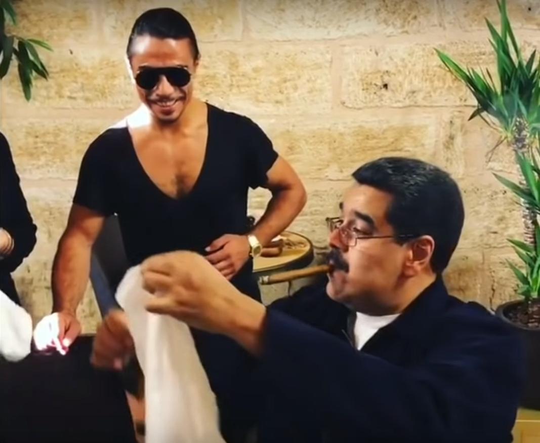 Ce a urmat după ce bucătarul turc Salt Bae l-a ospătat pe Maduro cu carne. VIDEO