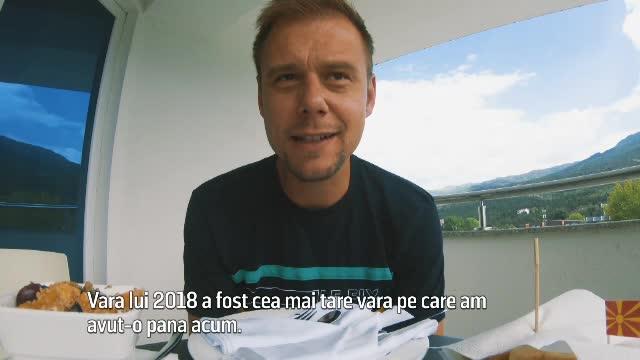 Armin van Buuren, mesaj emoţionant despre România.