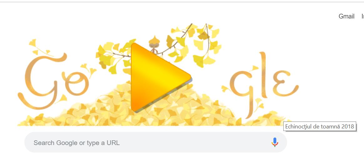 Echinocţiul de toamnă 2018, celebrat de Google printr-un Doodle special