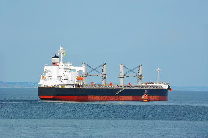 O navă încărcată cu fier vechi s-a scufundat în nordul Mării Negre