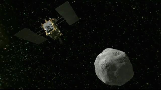 Doi roboţi japonezi au ajuns pe suprafaţa unui asteroid. Imaginile trimise de acolo
