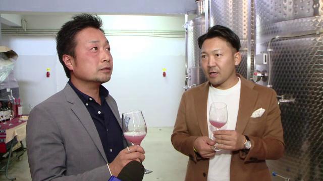 """Doi japonezi învață la Iași să facă vinuri ca în România. """"E aromat, sexy și merge cu sushi"""""""