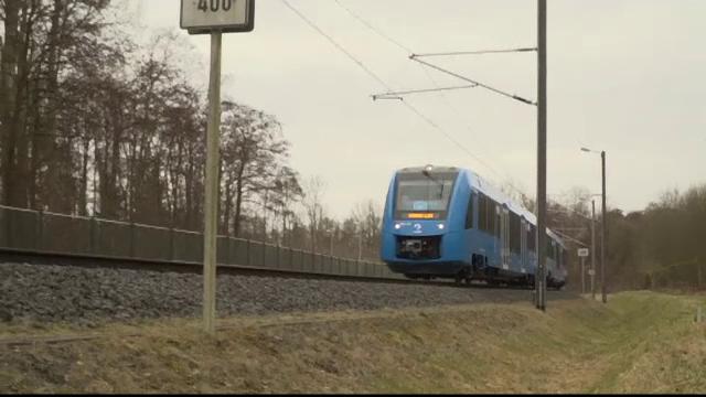 Germania testează primele trenuri cu hidrogen. Cum funcționează