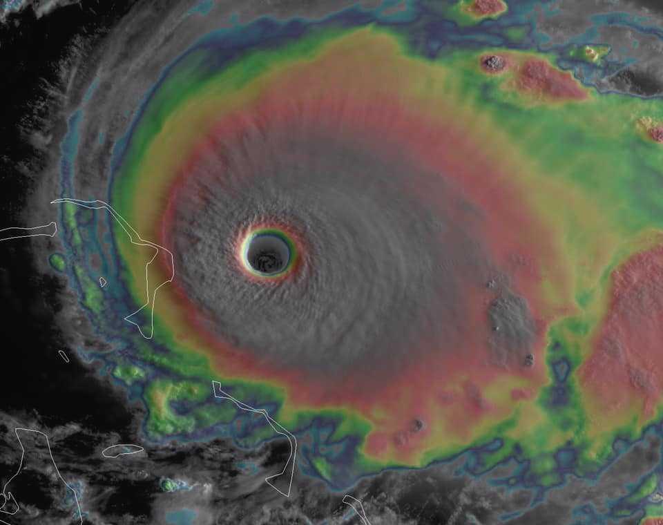 Uraganul Dorian, ridicat la categoria 5. Se așteaptă rafale de vânt de 260 km/h