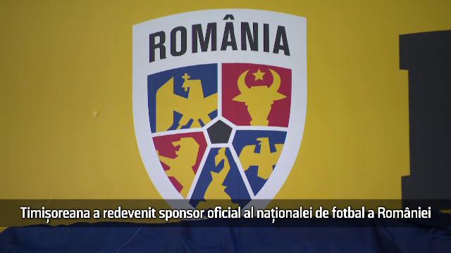 (P) Timișoreana a revenit ca sponsor oficial al Naționalei de Fotbal a României